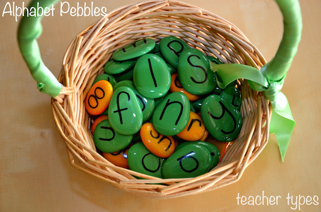 Pebbles-basket