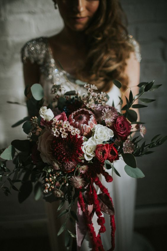 Winter Wedding Inspiration Photo 10 via Love My Dress on Pinterest