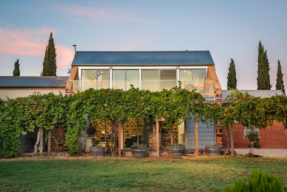 Barossa's Luxury accommodation: Barossa Shiraz Estate