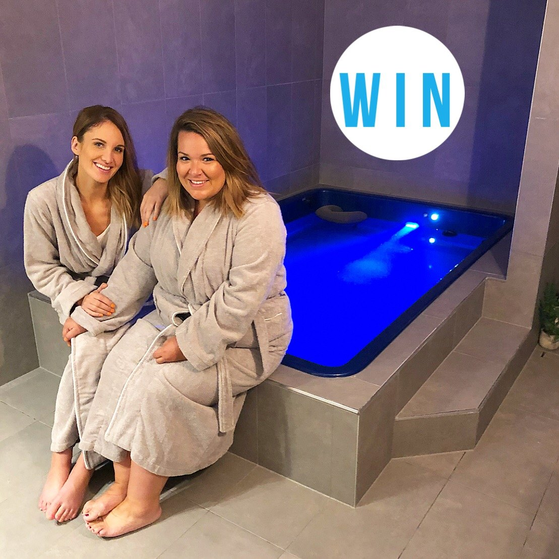 WIN the ultimate spa day for you and your bestie at Bliss Beauty + Float